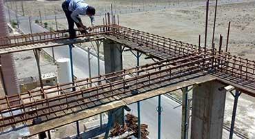 مراحل ساختن ستون
