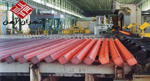 حجم صادرات ذوب آهن اصفهان به ۴۷۶ هزار تن رسید/تولید ۲۰ هزار تن ریل U۳۳ تا شهریور امسال