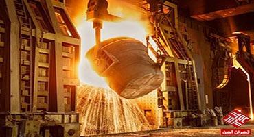 رشد ۱۱ درصدی تولید فولاد ایران با وجود تحریمهای آمریکا